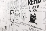 David Shrigley: Lose Your Mind. Installation of Drawings