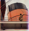 SHIPS FUNNEL, QUEEN MARY