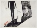'VIEWING A PRISON SCENE' FROM A RAKE'S PROGRESS (PORTFOLIO OF SIXTEEN PRINTS) 1961-63