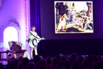 Grayson Perry gives a talk on the occasion of his exhibition, The Vanity of Small Differences, at the Museum of Contemporary Art of Republic of Srpska, Banja Luka, Bosnia and Herzegovina, September 2017