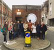 International Curatorial Delegation outside the Tool Appreciation Society in Hull