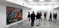 Opening of Grayson Perry: The Vanity of Small Differences at the National Gallery in Pristina, Kosovo
