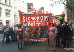 Ed Hall, Sex Workers of the World Unite March, 2003
