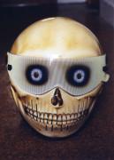 'Skull Helmet' by Sam Hughes of Bike Art, London, 2000