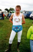 Tom Harrington, Cumberland and Westmoreland Wrestling Champion, Egremont, Cumbria, 1999