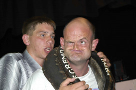 Gurner, The World Gurning Championships, Egremont, Cumbria, 2004