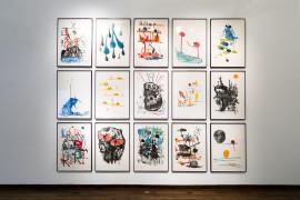 David Shrigley: Lose Your Mind. Monoprints