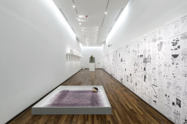 David Shrigley: Lose Your Mind. Installation view at Instituto Cultural Cabañas, Guadalajara, Mexico November 2015.