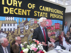 A Century of Campaigning for a Decent State Pension March, 2008