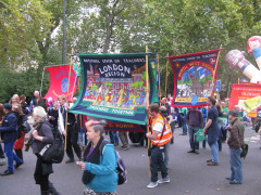 National Union of Teachers London Region March, 2014