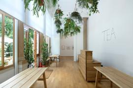 Tea Room, British Pavilion, 2013