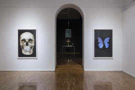 Damien Hirst, New Religion. Installation view. The Museum of Contemporary Art of Republic of Srpska.