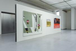 Painting Show Installation Photo Vilnius