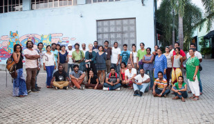 The symposium attracted a large group of Sri Lankan artists, designers and architects