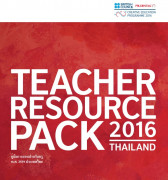 Cover of the Thailand Teacher Resources Pack, as part of the British Council Creative Education Programme