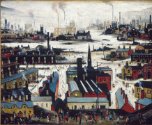 L. S. Lowry, Industrial City, 1948