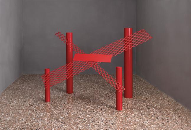 Anthony Caro, Red Splash, 1966