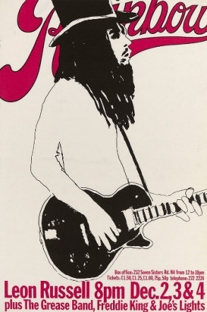 LEON RUSSELL PLUS THE GREASEBAND, FREDDIE KING AND JOE'S LIGHTS