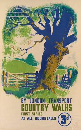 COUNTRY WALKS.  BY LONDON TRANSPORT