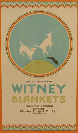 "WITNEY BLANKETS ""FLEECY, LIGHT AND WARM"""