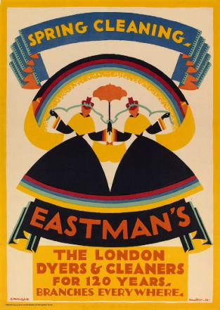 SPRING CLEANING: EASTMAN'S THE LONDON DYERS AND CLEANERS