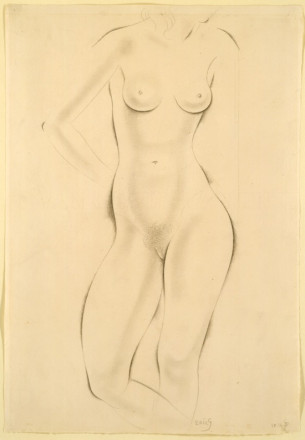 NUDE STUDY OF A GIRL