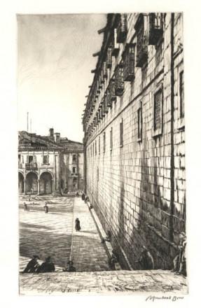 THE CONVENT OF SAN PAYO, SANTIAGO DE COMPOSTELLA