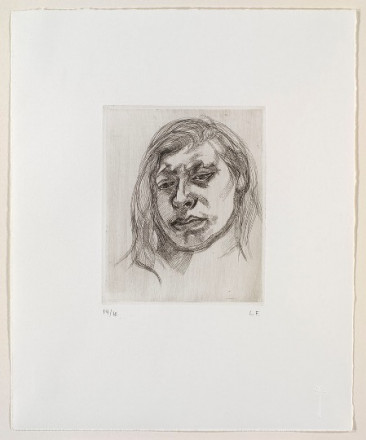 HEAD OF A GIRL II