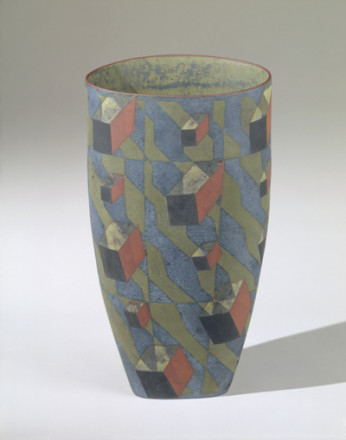 COUNTERPOINT VASE WITH COLLISION OF PARTICLES