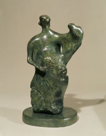 MAQUETTE FOR MOTHER AND CHILD: UPRIGHT