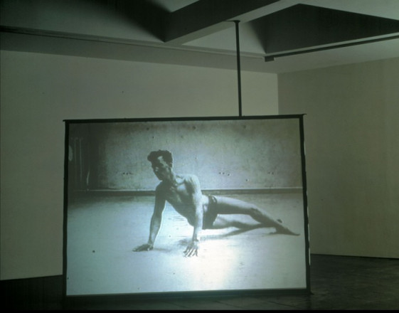 Douglas Gordon, 10 ms-¹, 1994.