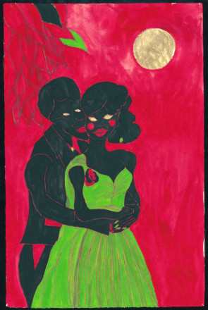 AFRO LUNAR LOVERS I