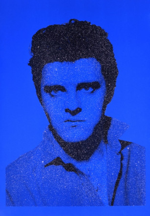 JACKIE BLUE ELVIS WITH DIAMONDS