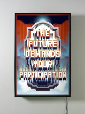 THE FUTURE DEMANDS YOUR PARTICIPATION