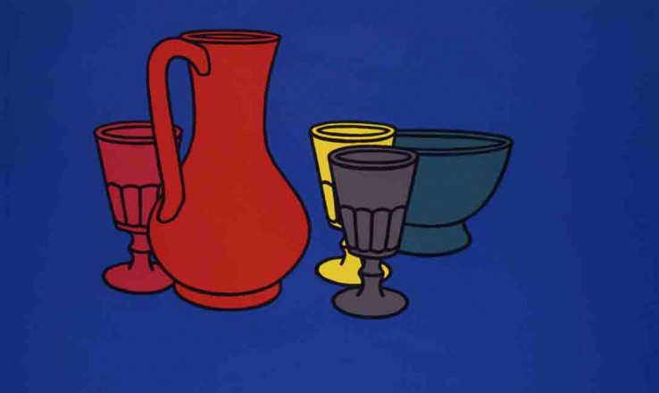 COLOURED STILL LIFE