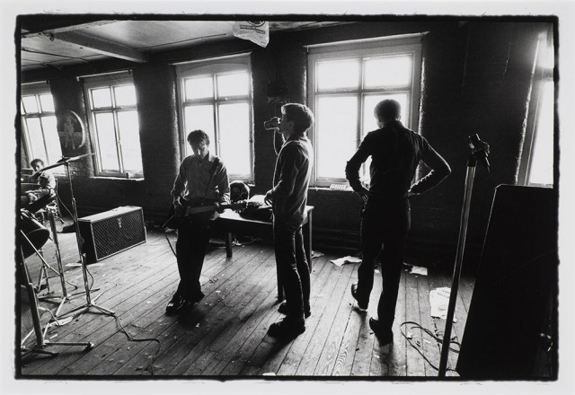 JOY DIVISION.  TJ DAVIDSON'S REHEARSAL ROOM.  LITTLE PETER STREET, MANCHESTER.  19  AUGUST 1979