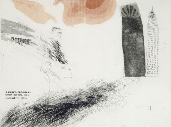 'THE ARRIVAL' FROM A RAKE'S PROGRESS (PORTFOLIO OF SIXTEEN PRINTS) 1961-63