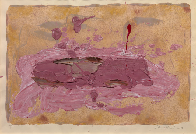 Hoyland JOhn-P1737 Untitled