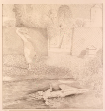 DRAWING FOR 'OPHELIA'