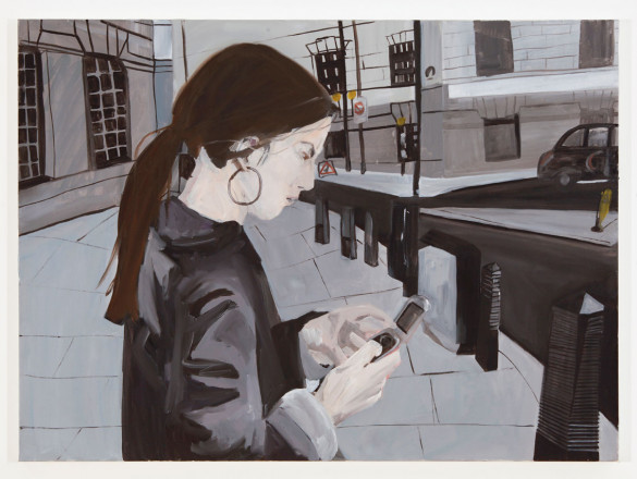 Keil Morag-P8518 Untitled (self-portrait with mobile phone)