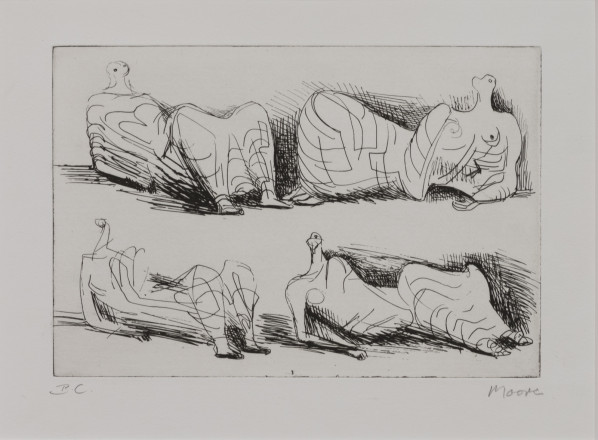 Moore Henry - P5071 Four Draped Reclining Figures_Image©British Council (Photo by Simon Difazio)