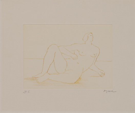 Moore, Henry - P5854 Reclining Nude I_Image©British Council (Photo by Simon Difazio)
