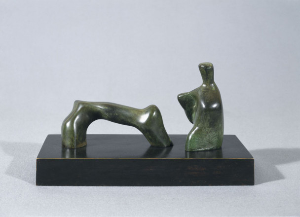 MAQUETTE FOR RECLINING FIGURE ARCH LEG
