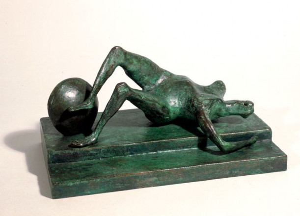 MAQUETTE FOR FALLING WARRIOR