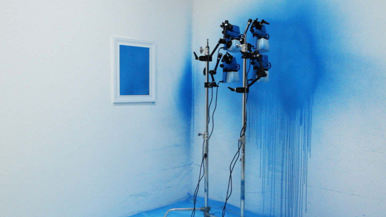 Wood and Harrison - P8642 - Semi Automatic Painting Machine - mirror2