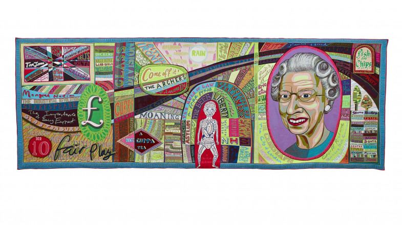 Grayson Perry, Comfort Blanket, 2014