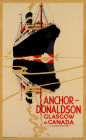 ANCHOR DONALDSON GLASGOW TO CANADA VIA LONDONDERRY