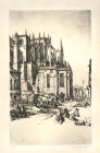 STUDY OF THE APSE OF LEON CATHEDRAL