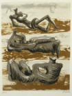THREE RECLINING FIGURES