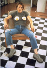 SELF PORTRAIT WITH FRIED EGGS 1996